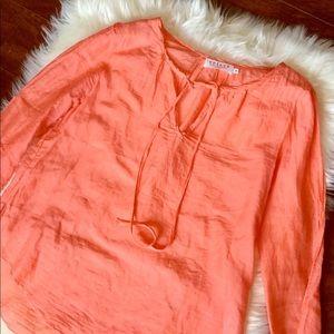 Coral Boho Top from Velvet